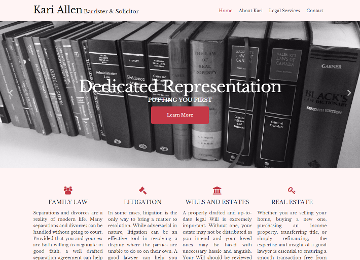 View more info for client allen-law.ca